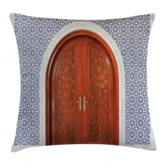 Antique Stars Wooden Door Pillow Cover