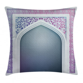 Old Geometric Motifs Pillow Cover