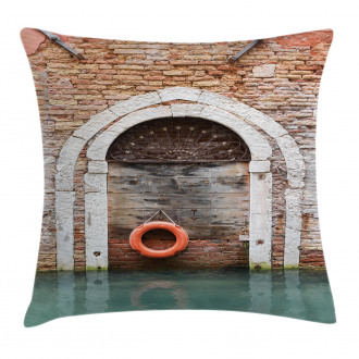 Historical Venice Door Pillow Cover