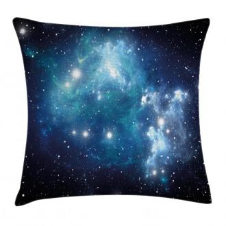Mystical Supernova Stars Pillow Cover