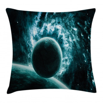 Solar System Star Scenery Pillow Cover