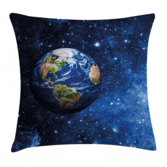 Planet Earth Solar System Pillow Cover
