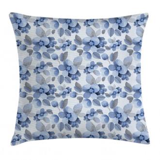 Paintbrush Camelia Leaf Pillow Cover