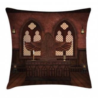 Temple Rituals Tradition Pillow Cover