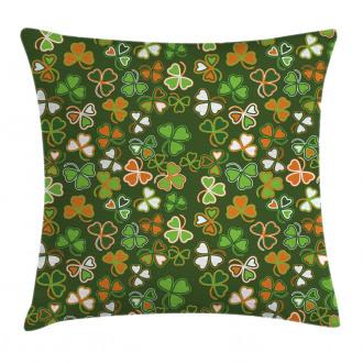 Lucky Clover Pillow Cover