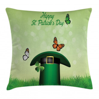 Irish Hat Charm Pillow Cover