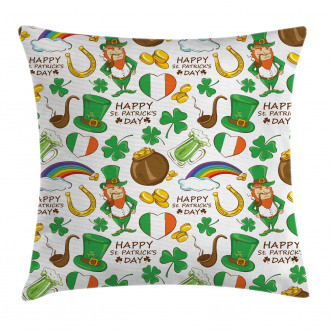 Irish Party Pillow Cover