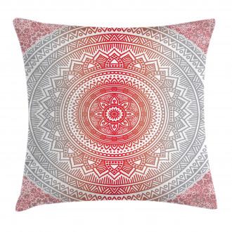 Ombre Mandala Boho Pillow Cover
