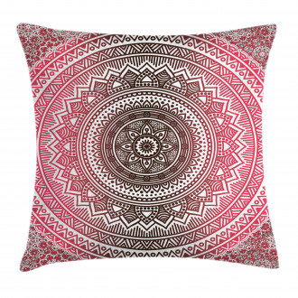Ombre Zen Ethnic Pillow Cover