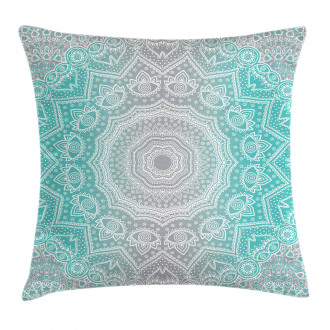 Ombre Ethnic Pillow Cover