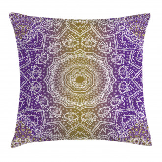 Mandala Ombre Pillow Cover
