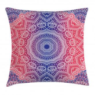 Hippie Ombre Boho Asian Pillow Cover