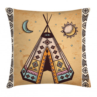 Native Bohemian Signs Pillow Cover