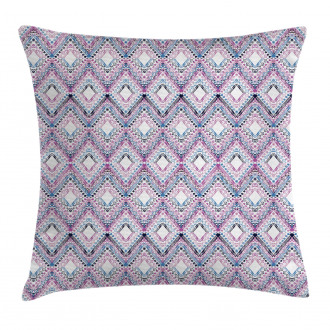 Abstract Tribal Pattern Pillow Cover