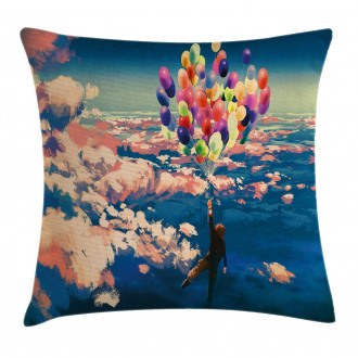 Flying Colors Balloon Pillow Cover