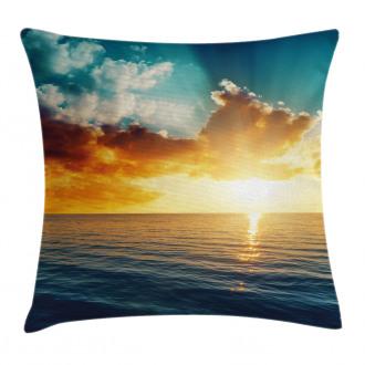 Magical Horizon Panorama Pillow Cover