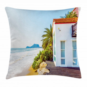 Home Porch View Moroccan Pillow Cover