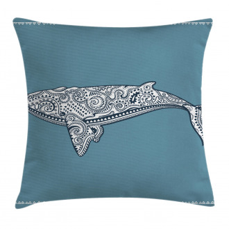 Ethnic Embellish Whale Pillow Cover