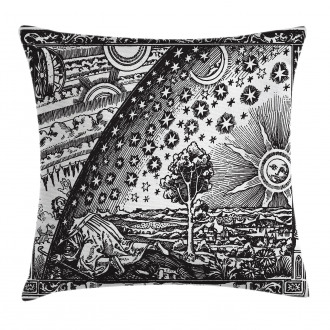 Moon Sun Planets Image Pillow Cover