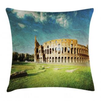 Italian Sunset Rome Pillow Cover