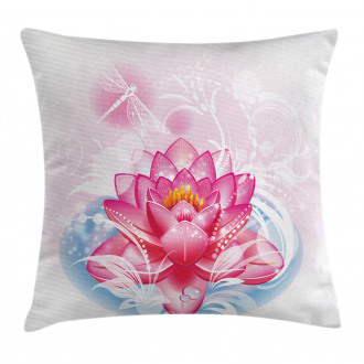 Mandala Yoga Lotus Pillow Cover