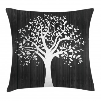 Tree with Many Leaves Pillow Cover