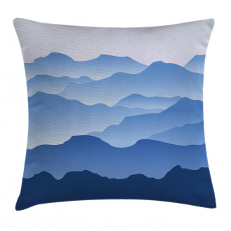 Nature Theme Silhouette Pillow Cover
