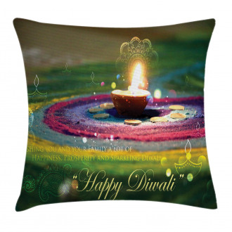 Festive Wish Pillow Cover