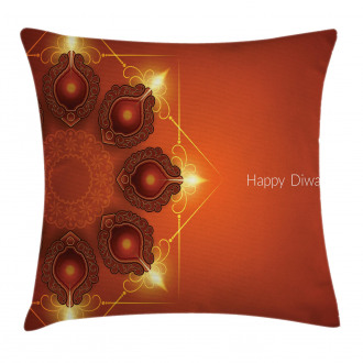 Sacred Celebration Happy Pillow Cover