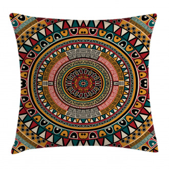 African Ethnic Color Art Pillow Cover