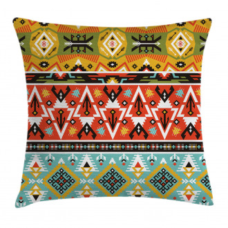 Love and Adventure Aztec Pillow Cover