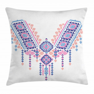 African Geometric Design Pillow Cover