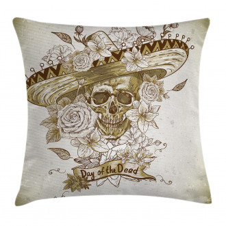 Spanish Dead Hat Pillow Cover
