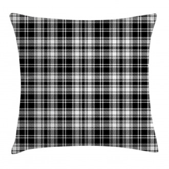 British Tartan Pattern Pillow Cover