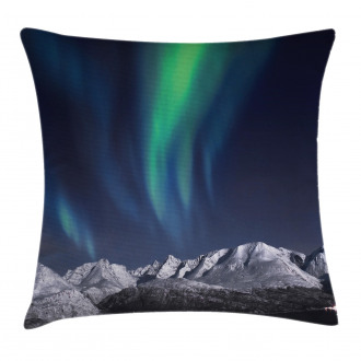 Northern Night Norway Solar Pillow Cover