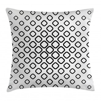 Trippy Fractal Rounds Pillow Cover