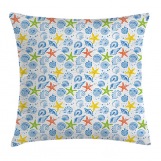 Marine Themed Starfish Pillow Cover