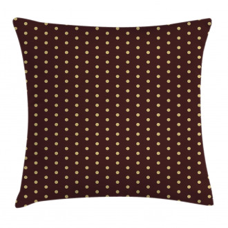 Old Fashion Retro Dots Pillow Cover