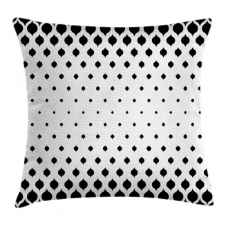 Victorian Fashion Shapes Pillow Cover