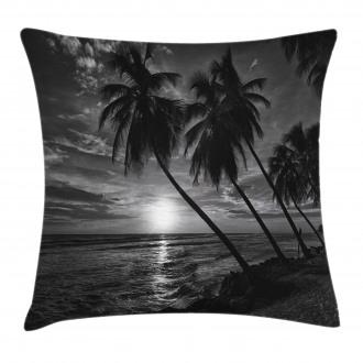 Horizon over Sea Picture Pillow Cover