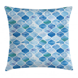 Arabic Mosaic Pattern Pillow Cover