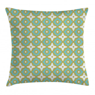 Floral Tones Ornate Pillow Cover