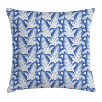 Flower Leaves Porcelain Pillow Cover