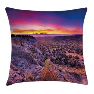 Sunrise Sky Horizon Dusk Pillow Cover