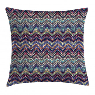 Abstract ZigZag Chevron Pillow Cover