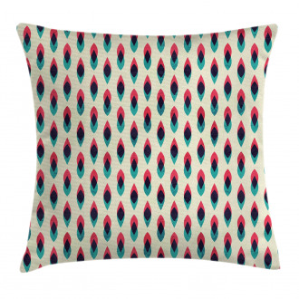 Geometric Curve Pattern Pillow Cover