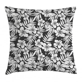 Exotic Hibiscus Flower Pillow Cover