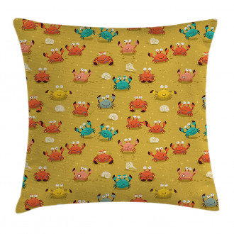 Star and Shells Pattern Pillow Cover