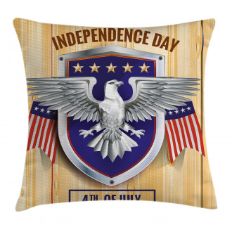 American Bald Eagle Pillow Cover