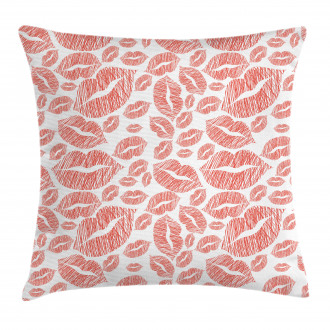 Hot Retro Lady Lips Pillow Cover